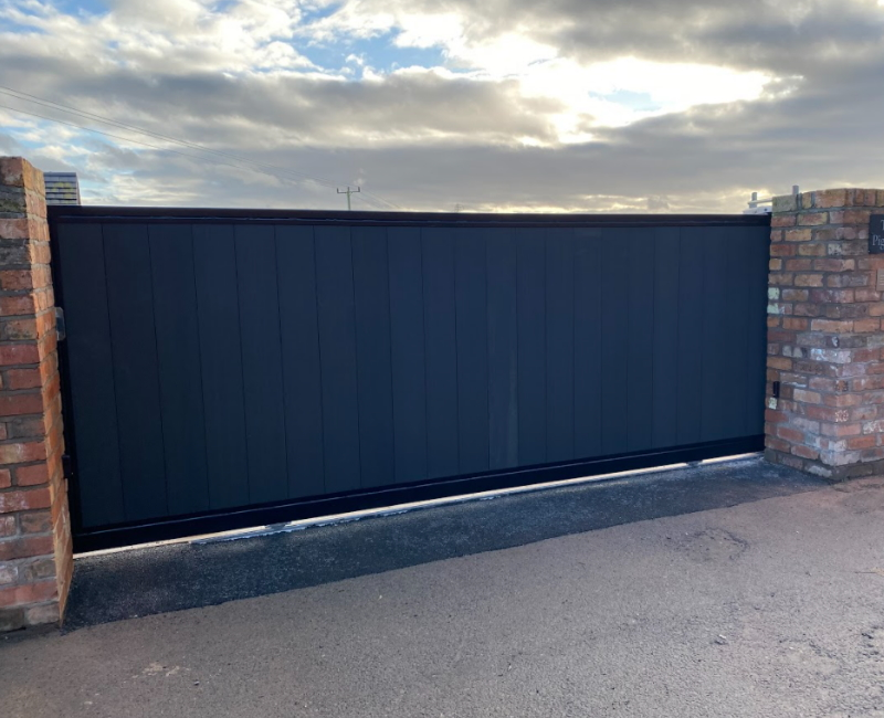 Stylish Modern Aluminium Gates