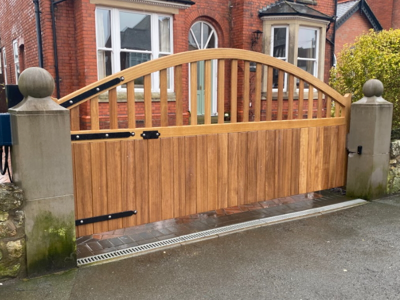 Automated Wooden Gates